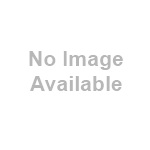 Cream Oval Bevelled Mirror with Gold Tipped Floral Crest by Minster Giftware
